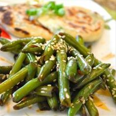 Chinese style Green beans in Garlic (1pp)