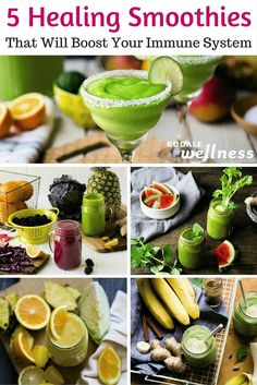 Drink your way to better health with these immune-boosting #smoothie #recipes. | RodaleWellness.com