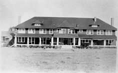 ROCKEFELLER ESTATE, Clubhouse, Overhills, NC. From the General Negative Collection, State Archives of NC. 1920s-1930's.