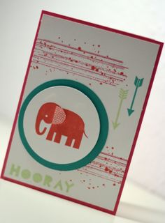 Stampin' UP ! - Zoo Babies - Geometrical - Baby