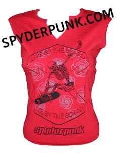 www.spyderpunk.com #spyderpunk #skatelife #skateboarding #streetwear #surfing #snowboarding #rollerderby #bmx #tee #skater #surfer