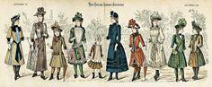 Historical Fashion | Girls Legs