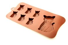 Silicone Easy Choc Cat plus Kittens Chocolate