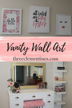 Vanity Wall Art, Mak