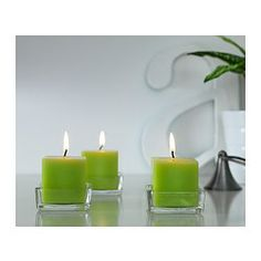 FYRKANTIG Block candle holder - IKEA