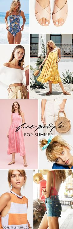 b8d763d7f9b3a Free People Summer Style Under  100 - Poor Little It Girl