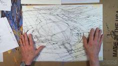 Syd Mead - Airship Arrival Syd Mead, Process Art, Google Search, Environment, Design, Studio, Street, Studios