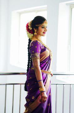 Indian Bridal Sarees, Indian Bridal Fashion, Kerala Bride, South Indian Bride, Wedding Bridesmaid Dresses, Saree Wedding, Wedding Shoot, Bridal Hairdo, Bridal Braids