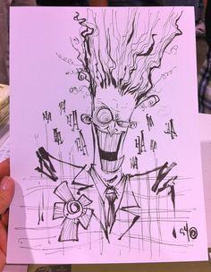 The Joker by Skottie Young