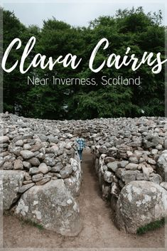Clava Cairns Near Inverness, Scotland - For the Love of Wanderlust Since my mom and I are both huge Outlander fans, I know that I had to find some stone circles for us to explore. I found the perfect one in Clava Cairns. England Ireland, England And Scotland, Edinburgh Scotland, Inverness Scotland, Highlands Scotland, North Scotland, Scotland Castles, Skye Scotland, Scotland Road Trip