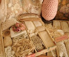 Pearls and Lace Thursday 109 Drawers of Lace, organized and pretty