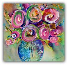 Spiral Love Series 8.5 x 11 Archival Digital by MangioneStudio