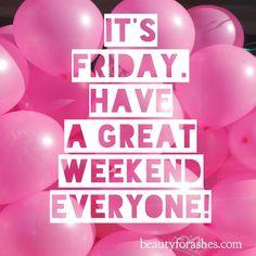 #Friday #weekend