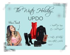 """""""The Winter Holiday: UPDO"""" by brianna-bae ❤ liked on Polyvore featuring beauty, Chicwish, Miss Selfridge, BCBGMAXAZRIA, White House Black Market and Casetify"""