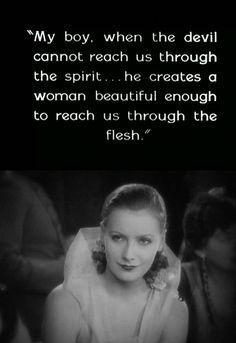 Greta Garbo  Flesh and the Devil
