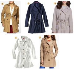 Penny Pincher Fashion: The Classic Trench