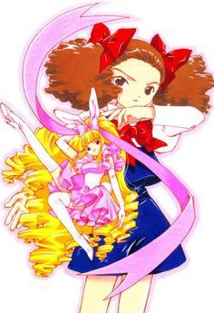 Arisu Fujisaki and her angel Alice