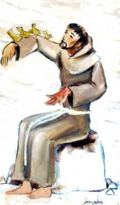 San Francisco Quadro de Frei Pedro da Silva Pinheiro