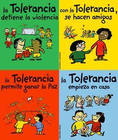 Para evitar las desigualdades y discriminaciones : www.necesitodetodos.org - Es necesario construir bases para un mundo mejor.