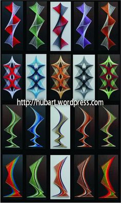 string art columns