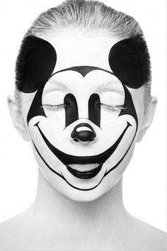 Mickey Mouse make up