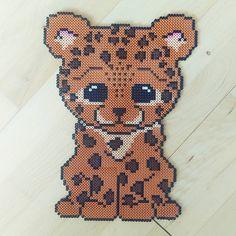 Leopard hama beads by frk.freja