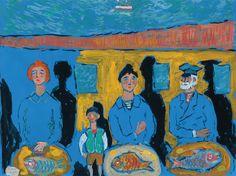 by fikret mualla Modern Art, Contemporary Art, Chaim Soutine, Local Painters, Turkish Art, Fauvism, Art Station, Traditional Art, Oeuvre D'art