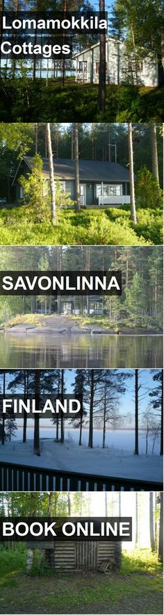 Hotel Lomamokkila Cottages in Savonlinna, Finland. For more information, photos, reviews and best prices please follow the link. #Finland #Savonlinna #travel #vacation #hotel
