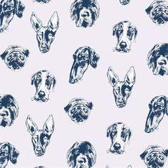 Doggie Pattern Set on Behance
