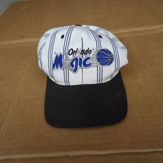 55f84397f50 vintage orlando magic starter snapback hat cap mens