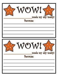 FREE - This Wow! Positive Note Home product is a sample page from my Polka Dots Teacher Binder product. This note can be sent home to promote positive beh. Kindergarten Classroom, School Classroom, School Fun, School Ideas, Classroom Ideas, Sunday School, Middle School, School Stuff, Classroom Rewards