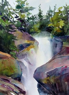 """Explore our website for even more relevant information on """"abstract art paintings diy"""". It is actually an outstanding area to read more. Watercolor Painting Techniques, Watercolor Landscape Paintings, Watercolor Artists, Watercolor Portraits, Landscape Art, Art Paintings, Indian Paintings, Painting Tutorials, Abstract Paintings"""