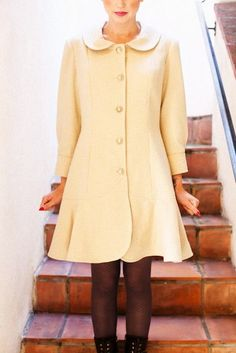 Abbey Coat: Jamie Christina Patterns: Intermediate Sewing and Dressmaking.