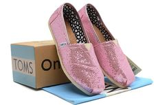 Toms Womens Glitter Shoes