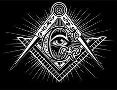 Illuminati All Seeing Eye Freemason Symbol Metal Print Masonic Art, Masonic Jewelry, Masonic Lodge, Masonic Symbols, Freemason Tattoo, Masonic Tattoos, Freemason Symbol, Illuminati Tattoo, Mystery Books