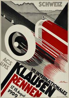 Eric De Coulon. 7th International Races in Klausen. 1929