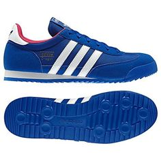c5cb43b4c Since they roared onto the scene in the the womens adidas Originals Dragon  shoes have had classic trainer cachet. With a sawtooth outsole and a  contrast ...