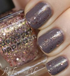 Deborah Lippmann Space Oddity Trio for Holiday 2013 – Nail Polish Swatches