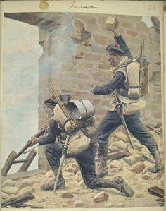 Infantry de la Marine c 1870