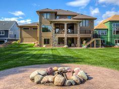 Dream backyards. #HomeExteriors #CustomHomes #IronwoodHomes #Urbandale #Iowa