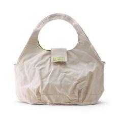 6SHiKi/Colorful ラウンドバッグ アイボリー 15750yen 国産特級倉敷帆布×ナイロンの機能バッグ、ママバッグにも