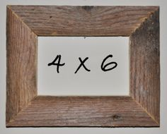 4 x 6 Driftwood Picture Frame 220 by DriftwoodMemories on Etsy, $16.95