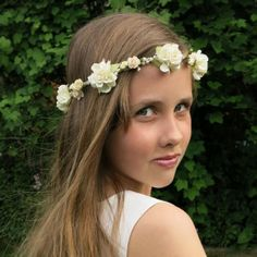 'Elise' flower crown by Blooming Loopy