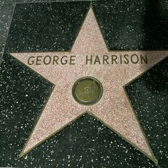 Hollywood Walk of Fame / GEORGE WAS SERIOUSLY MY SOULMATE (NOT ONLY AMAZINGLY HANDSOME) I LOVED HOW HE ALWAYS ENJOYED LIFE.  I LOVE THE WORDS HE SPOKE AND SUNG.  I LOVED HIS PHILOSOPHY ON EVERYTHING.  IT'S LIKE HE WAS MY LONG LOST TWIN OR SOMETHING.....I FEEL SO CONNECTED TO HIM.  AND I LOVE HIS STYLE....