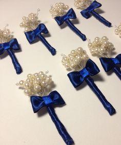 Lapel flower ( pearl )