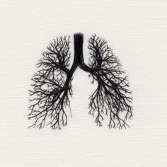 My lungs have rooted veins.