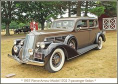 1937 Pierce-Arrow 7-passenger sedan by sjb4photos, via Flickr