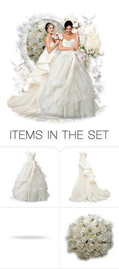 """Sisters Wedding"" by reluna ❤ liked on Polyvore featuring art"