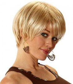 Peachy Plus Size Women Short Hairstyles And Round Faces On Pinterest Short Hairstyles Gunalazisus