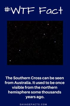 Southern Cross or the Crux Constellation is the smallest constellation we know. It is named so because it's shaped like a cross. It is visible from the Southern Hemisphere. Coral Castle, Space Facts, Weird Facts, Constellations, Savage, Kids Playing, Give It To Me, Southern, Trees